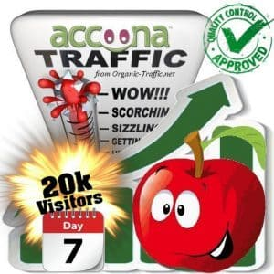 accoona search traffic visitors 7days 20k