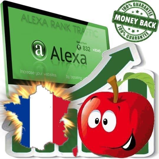Buy Alexa Rank Traffic (France)