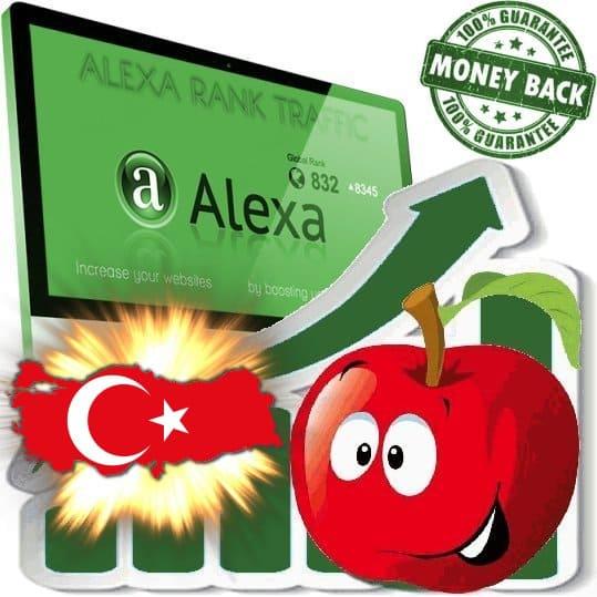Buy Alexa Rank Traffic (Turkey)