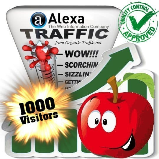 buy 1000 alexa search traffic visitors
