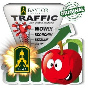 Buy University Traffic - Baylor.edu