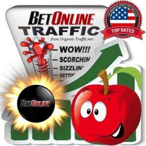 Buy BetOnline.ag Web Traffic Service