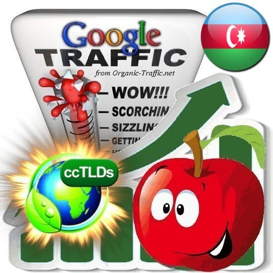 buy google azerbaijan organic traffic visitors
