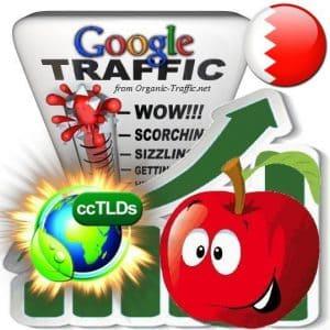 buy google bahrain organic traffic visitors