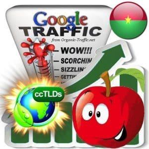buy google burkina faso organic traffic visitors
