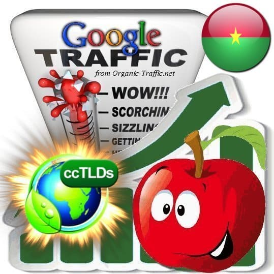 buy google burkina faso organic traffic visitors
