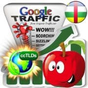 buy google central african rep. organic traffic visitors