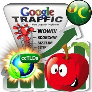 buy google cocos keeling islands organic traffic visitors