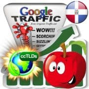 buy google dominican republic organic traffic visitors