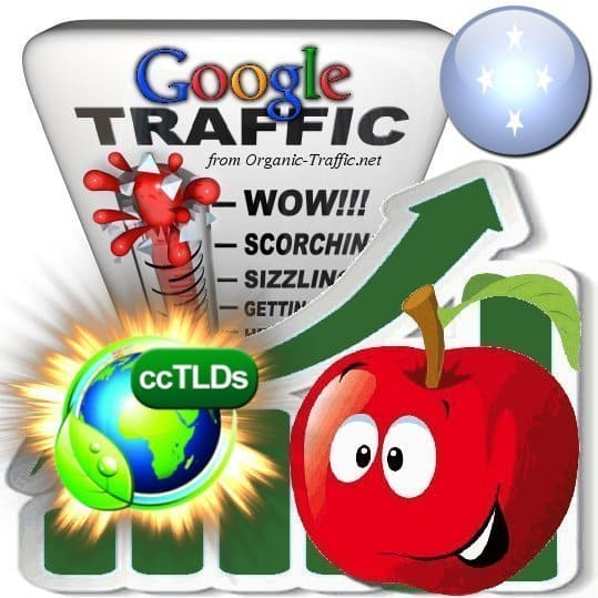 buy google federated states of micronesia organic traffic visitors