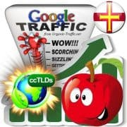 buy google guernsey organic traffic visitors
