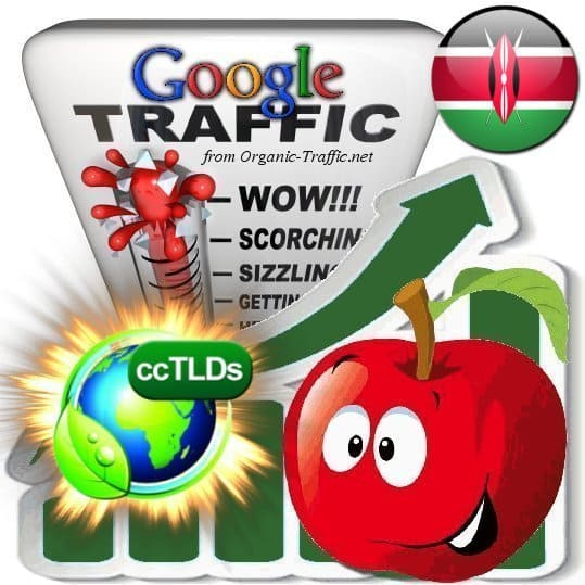 buy google kenya organic traffic visitors