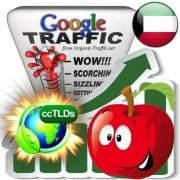 buy google kuwait organic traffic visitors