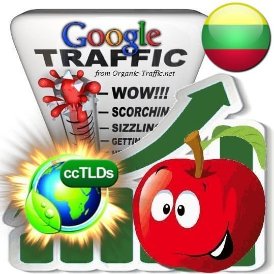 buy google lithuania organic traffic visitors