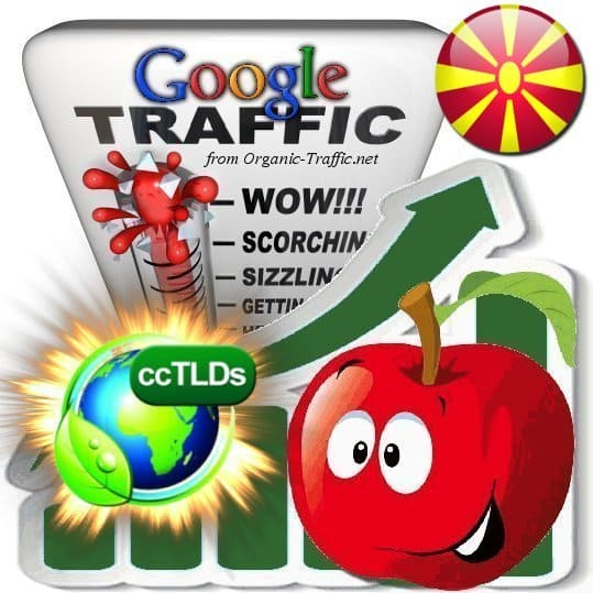 buy google macedonia organic traffic visitors