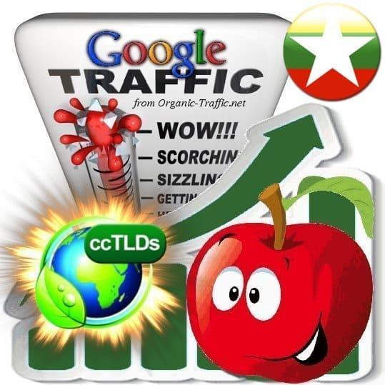 buy google myanmar organic traffic visitors