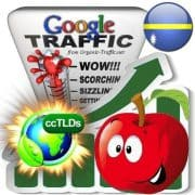 buy google nauru organic traffic visitors