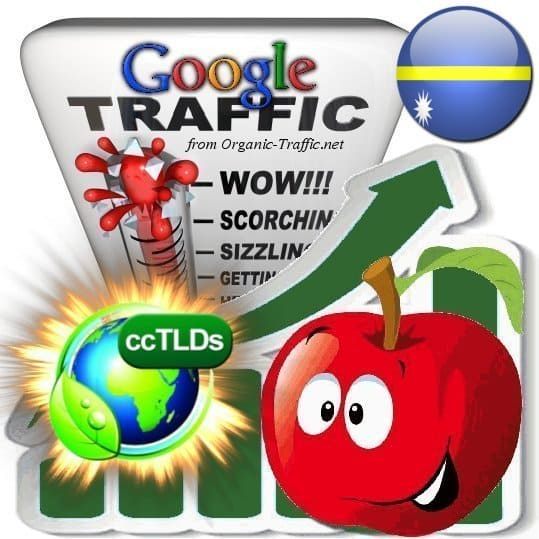 buy google nauru organic traffic visitors