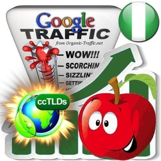 buy google nigeria organic traffic visitors