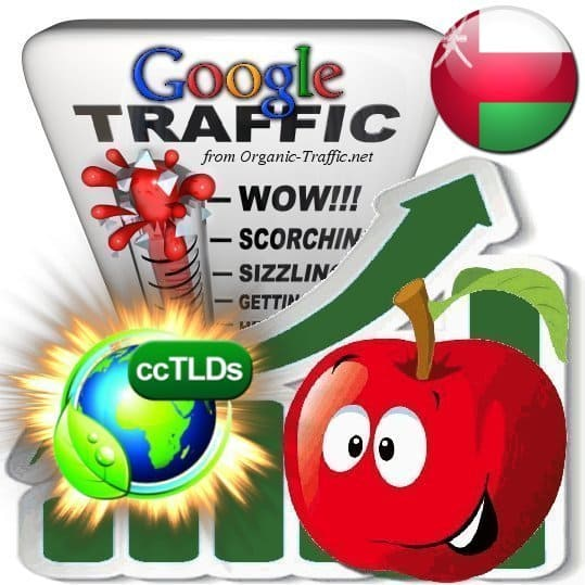 buy google oman organic traffic visitors