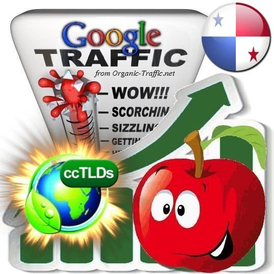 buy google panama organic traffic visitors
