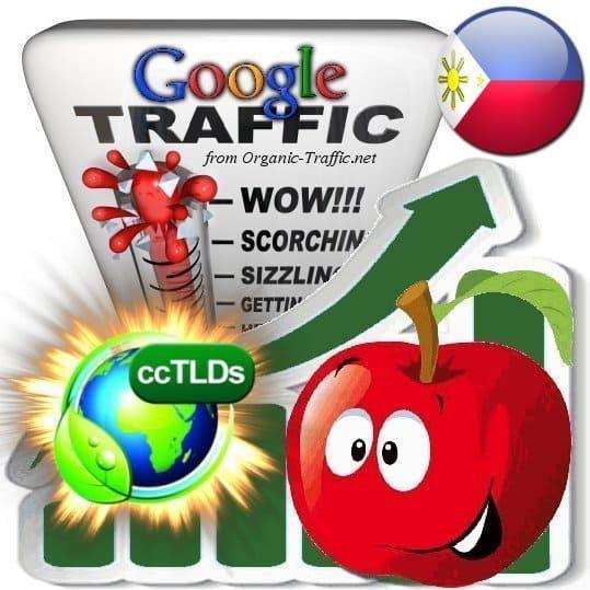 buy google philippines organic traffic visitors