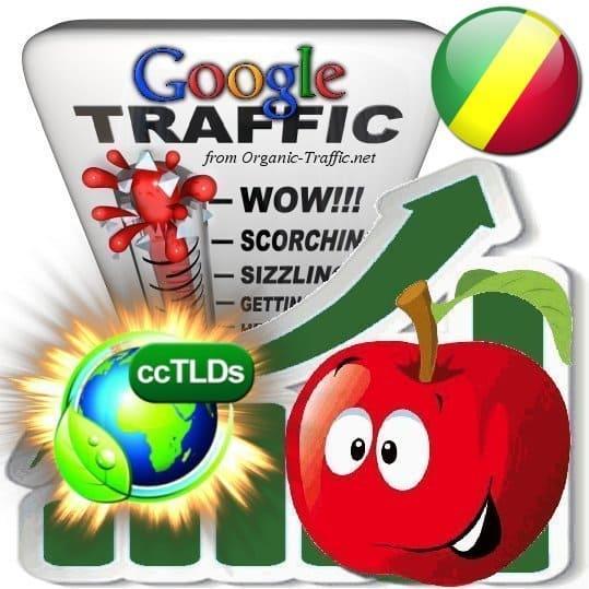 buy google republic of the congo organic traffic visitors