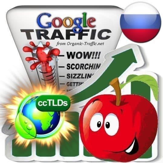 buy google russia organic traffic visitors