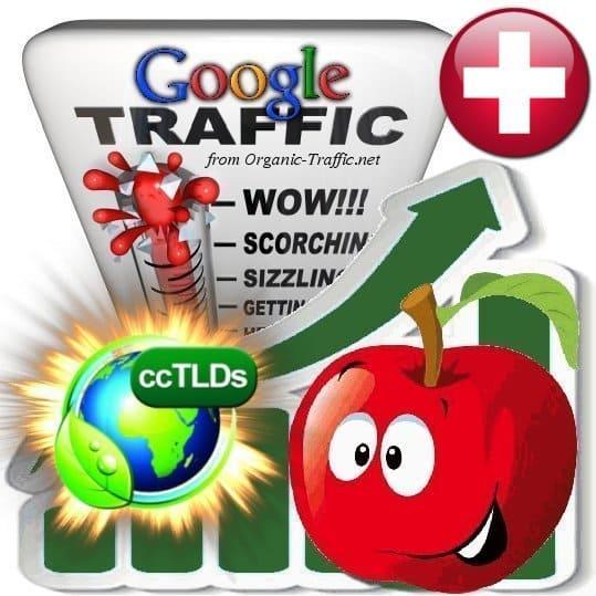 buy google switzerland organic traffic visitors
