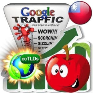 buy google taiwan organic traffic visitors