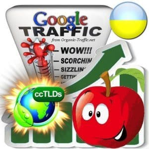 buy google ukraine organic traffic visitors