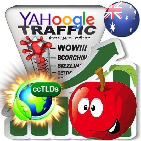 Buy Google & Yahoo Australia Webtraffic