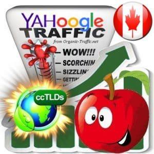 Buy Google & Yahoo Canada Webtraffic