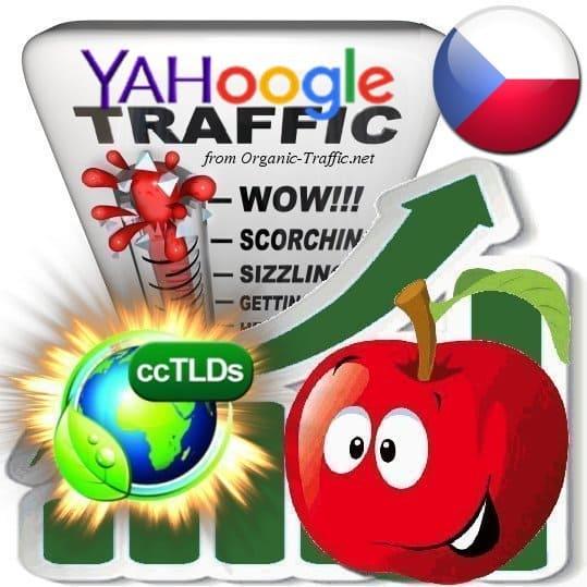 Buy Google & Yahoo Czech Rep. Webtraffic
