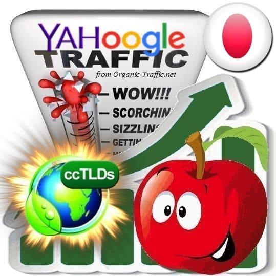 Buy Google & Yahoo Japan Webtraffic