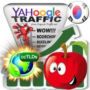 Buy Google & Yahoo Korea Webtraffic