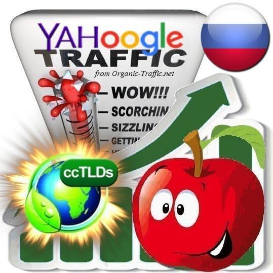 Buy Google & Yahoo Russia Webtraffic