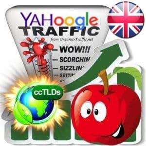 Buy Google & Yahoo UK Webtraffic