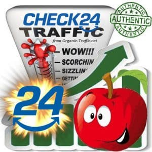 Buy Website Traffic Check24.de