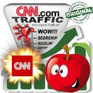 Buy CNN.com Web Traffic