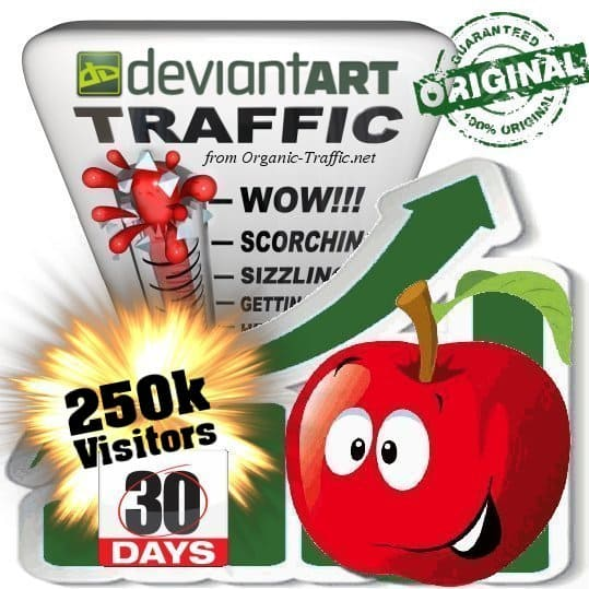 buy 250k deviantart social traffic visitors in 30 days