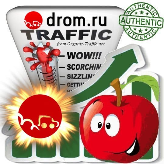 Buy Webtraffic - Drom.ru