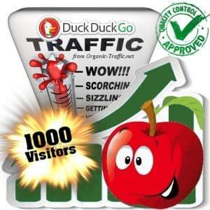 buy 1000 duckduckgo search traffic visitors