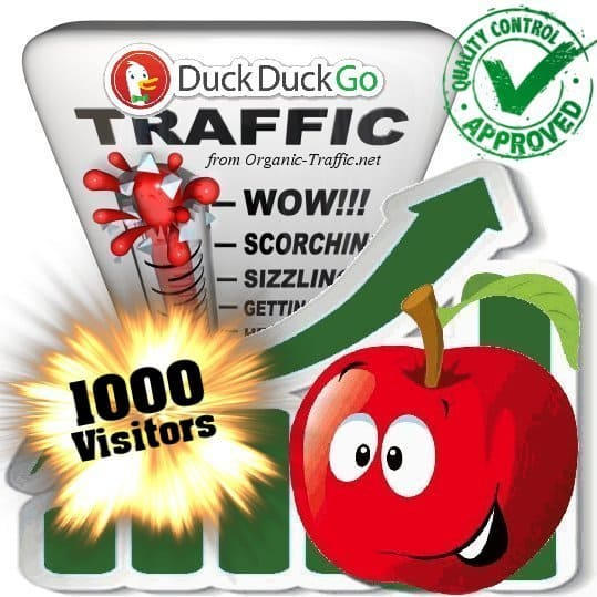 buy 1000 duckduckgo search traffic visitors
