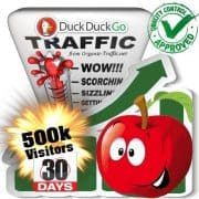 duckduckgo search traffic visitors 30days 500k