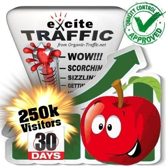 buy 250.000 exite search traffic visitors in 30 days