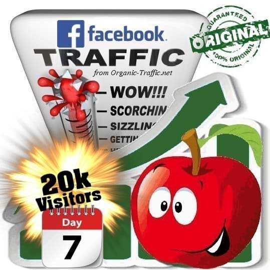 get 20.000 facebook social traffic visitors in 7 days