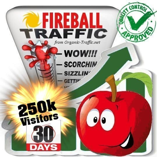 fireball search traffic visitors 30days 250k