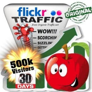 buy 500k flickr social traffic visitors in 30 days