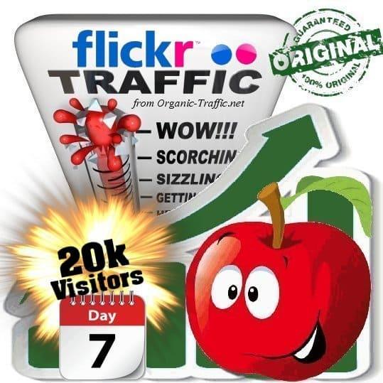 buy 20k flickr social traffic visitors 7 days